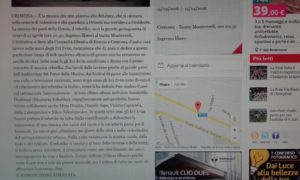 """""""La Provincia di Cremona.it"""" del 14/4/16"""