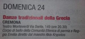 """""""Mondo Padano"""" del 22/4/16 pag.35"""