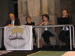 I relatori: da sin. Buzalis, Tonelli, Arli, Krypotòs
