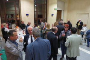 Il rinfresco offerto dalla Comunità Ellenica di Brescia e Cremona